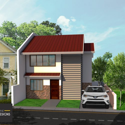 PHD 001 front w logo 500x500 - 48+ Low Cost Small House Design With Rooftop Philippines Images