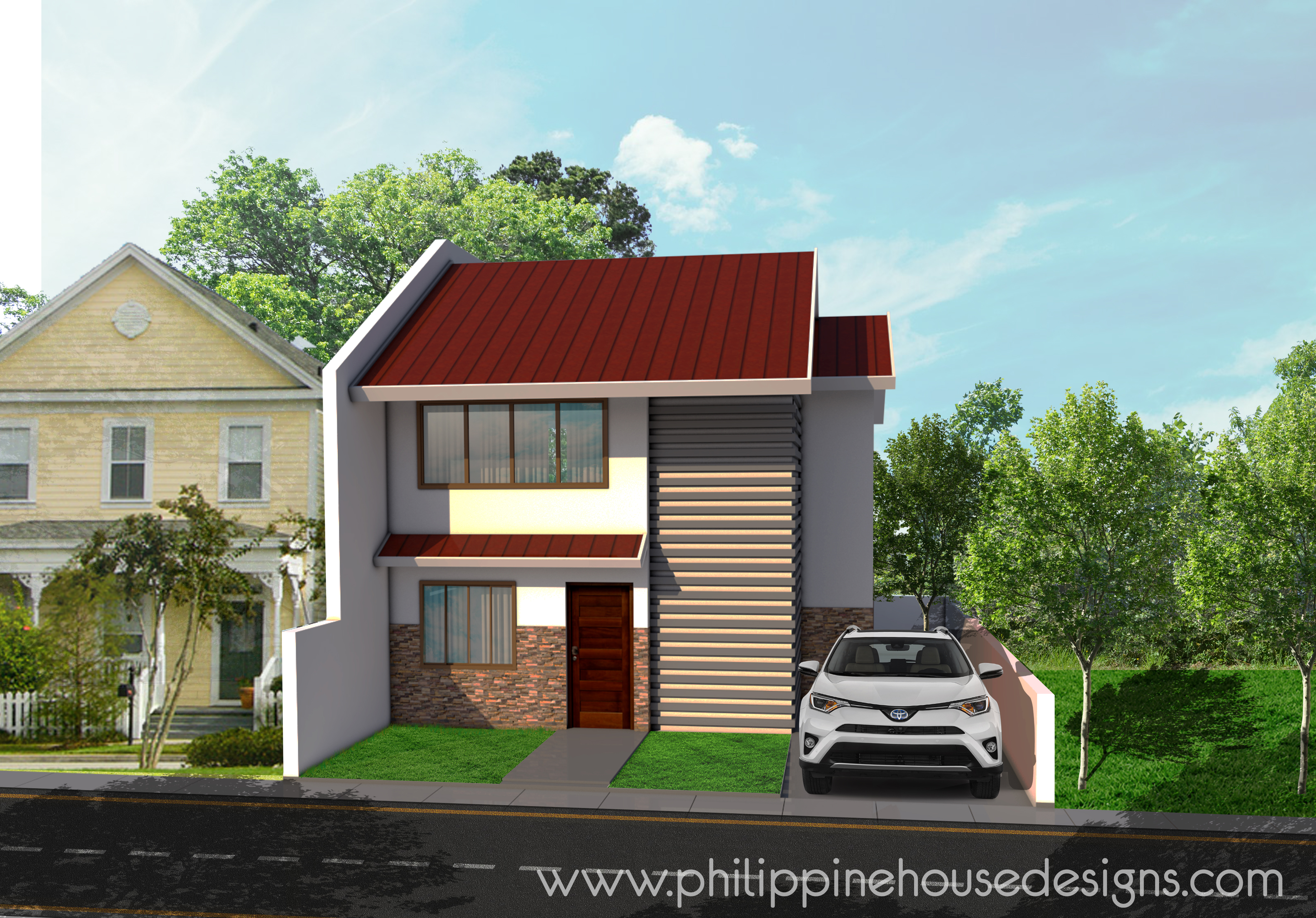Simple 2 Story House Designs And Plans Philippine House Designs