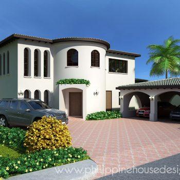 Mediterranean House Designs and Plans | Philippine House Designs