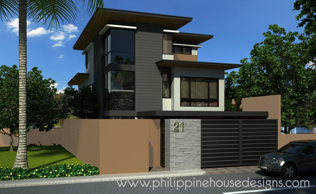 3-Story Modern House Designs and Plans | Philippine House ...