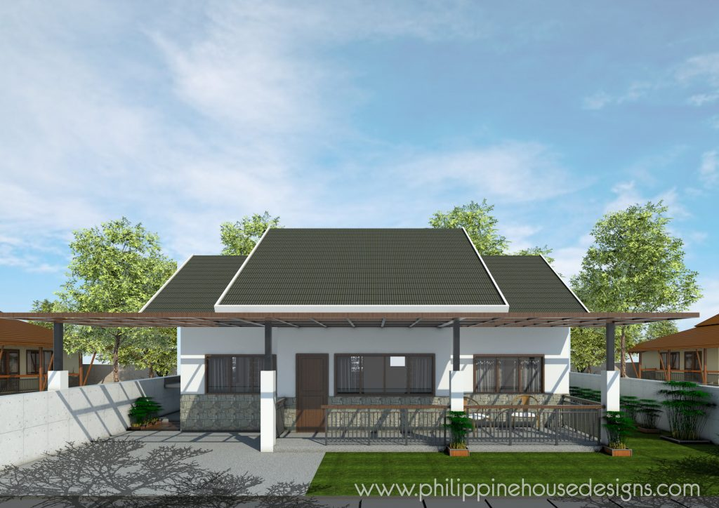 Single Story Contemporary House Philippine House Designs